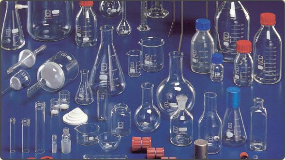 Lab glassware and plasticware