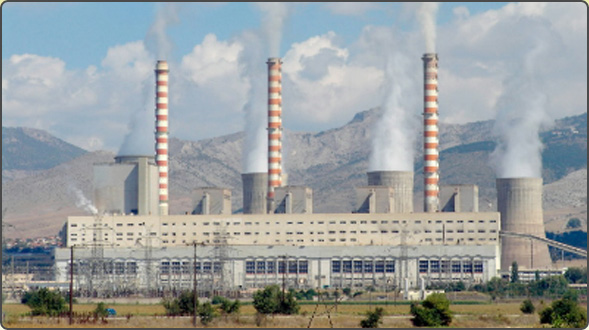 Petrochemicals and power plants