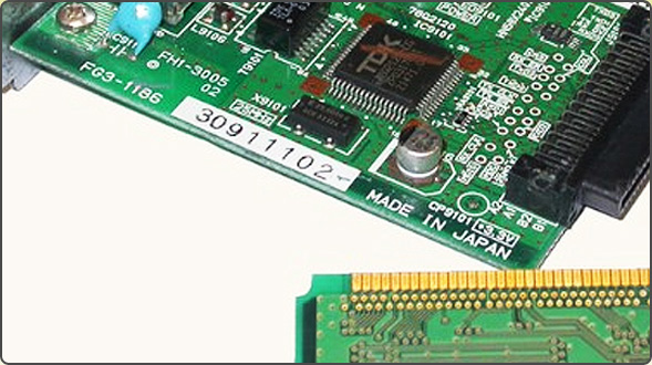 Print circuit board and electroplating